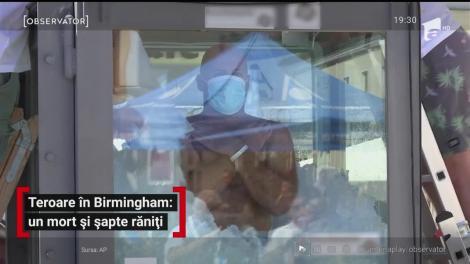 Teroare în Birmingham: un mort și șapte răniți