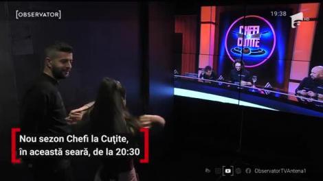 Noul sezon Chefi la Cuțite, de la 20:30, pe Antena 1