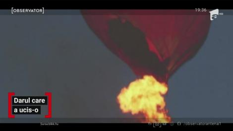 Un balon cu aer cald a luat foc în aer, imediat după decolare. Totul s-a întâmplat în Ungaria