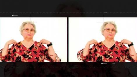 Alexandrina Kiosa vrea să arate chefilor cât de bine știe să gătească, la cei 83 de ani