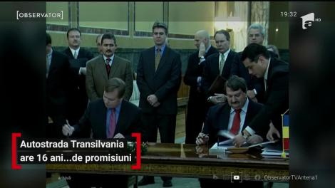 Autostrada Transilvania are 16 ani de promisiuni