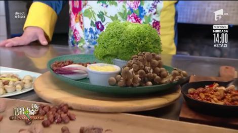 Ciuperci în cuib, rețeta lui Vlăduț de la Neatza cu Răzvan şi Dani