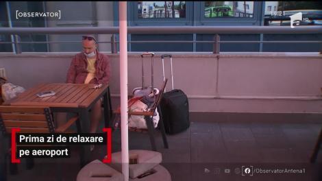 Prima zi de relaxare pe aeroport