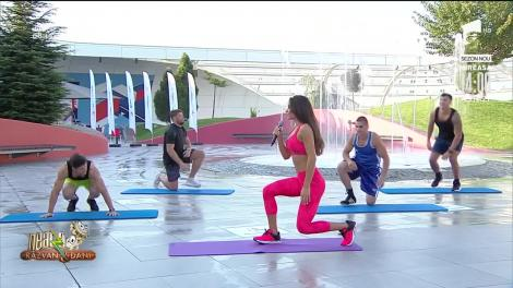 Diana Stejereanu, super antrenament la Neatza!