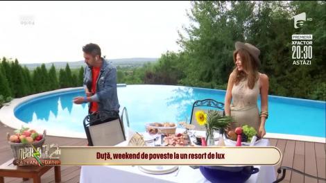 Marian Duță, weekend de poveste la un resort de lux