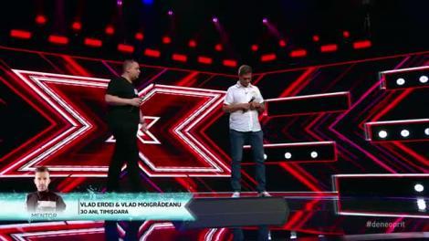 George Michaelc & Elton John - Don't Let The Sun Go Down On Me. Vezi cum cântă Vlad Moigrădeanu și Vlad Erdei la X Factor