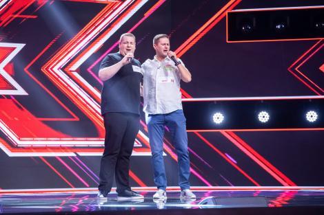 """Vlad Erdei și Vlad Moigrădeanu, duetul care a depășit orice așteptare. Jurații """"X Factor"""" s-au bucurat de un moment special"""
