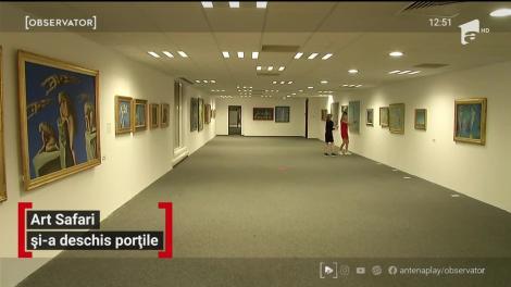 Art Safari și-a deschis porțile. Cum arată 12 milioane de euro în artă