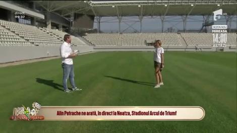 Stadionul Arcul de Triumf este aproape gata! Echipa Neatza îți arată primele imagini!
