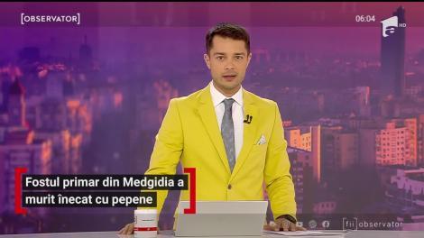 Fostul primar din Medgidia a murit înecat cu pepene