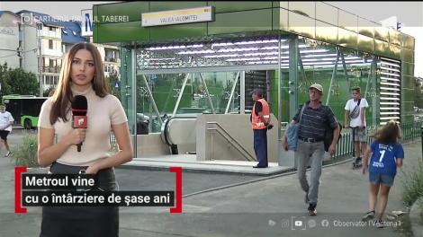 Metroul din Drumul Taberei vine cu o întârziere de șase ani