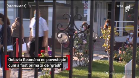 """Octavia Geamănu, despre prima zi de """"grădi"""" a fiului ei"""