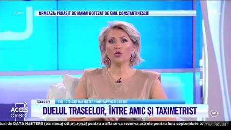 Răpire ca în filme sau imaginaţie bogată? Andreea Podărescu, prietenul ei şi taximetristul au refăcut traseul din ziua cu pricina