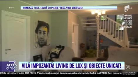 Alexandru Brădățan are o vilă ca la Hollywood și o masă de mii de euro, în living