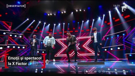 Emoții și spectacol la X Factor