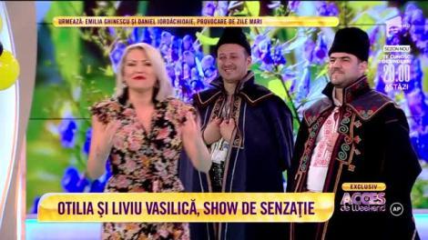 """Nicolae Sulac - """"Foaie verde ca aluna"""". Otilia și Grupul Teleormanul, show tradițional"""