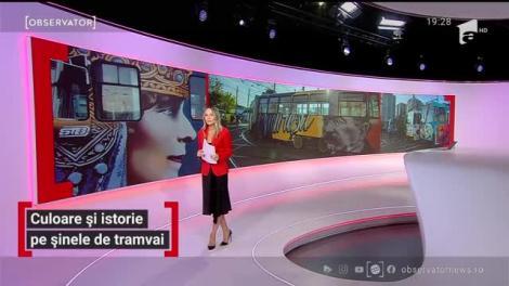 Culoare și istorie pe șinele de tramvai din București