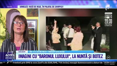 Imagini cu milionarul Constantin Dinescu de la nunta fiicei secrete