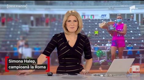 Simona Halep, campioană la Roma