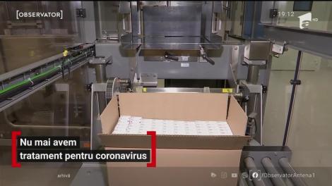 România a rămas fără medicamente pentru COVID