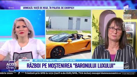 Război pe moștenirea milionarului Constantin Dinescu. Fiica lui secretă, detalii de la priveghi: Prezența mea îi deranja