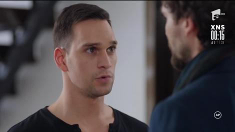 Victor îl amenință pe Amza: Habar nu ai ce pot să fac!