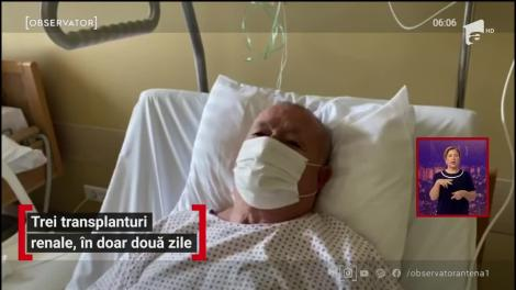 Trei transplanturi renale, în doar două zile în Braşov