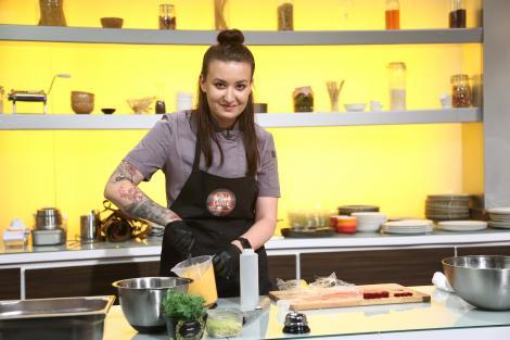 Roxana Blenche, sigura pe ea la Chefi al cuțite: Am venit că să câștige și o femeie concursul