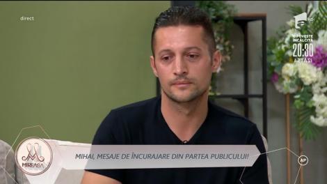 Mihai, mesaje de încurajare din partea publicului