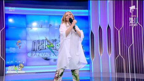 Alina Sorescu cântă piesa Numai tu, la Neatza cu Răzvan și Dani