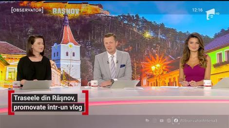 Traseele din Râșnov, promovate într-un vlog
