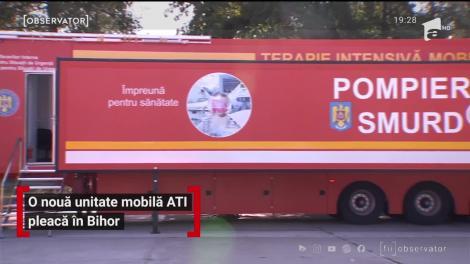 O nouă unitate mobilă AȚI pleacă în Bihor