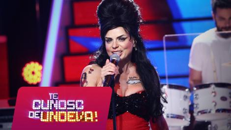 Jojo se transformă în Amy Winehouse - Rehab, la Te cunosc de undeva!