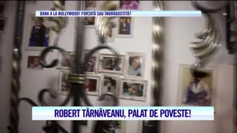 Robert Târnăveanu, cel mai iubit artist al Ardealului, se răsfaţă, împreună cu familia, într-un palat de poveste