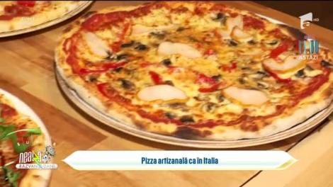 Pizza artizanală ca-n Italia