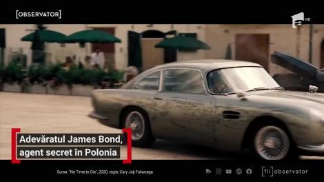 Adevăratul James Bond, agent secret în Polonia