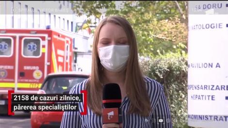 2158 de noi cazuri de COVID-19, în România. Medicii trag un semnal de alarmă