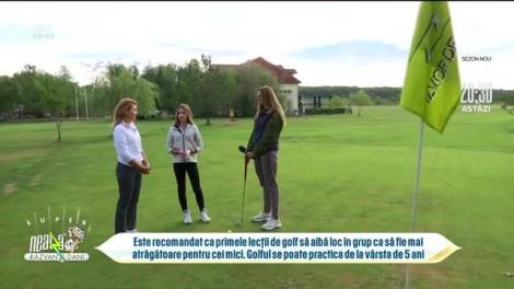 Prima fetiță campioană de golf, în direct, la Neatza