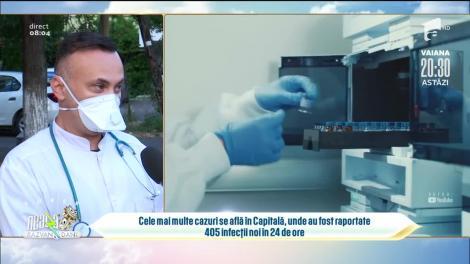 România a depășit 2.100 de cazuri de coronavirus pe zi. Ce scenarii ne așteaptă