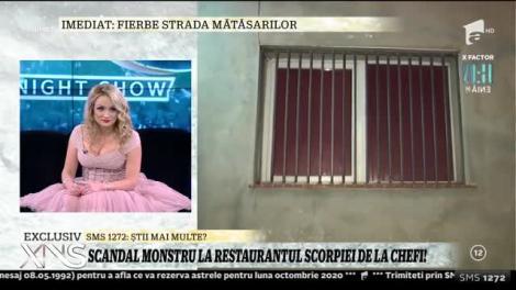 Scandal la restaurantul Amaliei Bellantoni. Ce a făcut Poliția