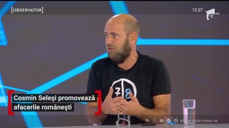 """Cosmin Seleși, campania cu care a reușit să promoveze afacerile românești: """"Am vrut să ne susținem unii pe alții"""""""