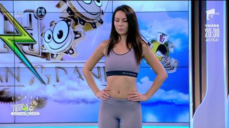 Exerciții cu banda elastică pentru coapse și fesieri, cu Diana Stejereanu