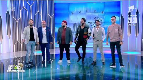 Super 4, italienii care au cucerit X Factor România, la Neatza. Florin Ristei s-a alăturat napoletanilor și au cântat împreună