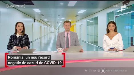Record negativ de cazuri de COVID-19 în România: 2.343