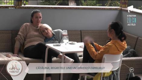 Mama Cătălinei a stârnit controverse între mamele din casa Mireasa