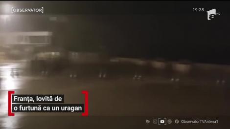 Franța, lovită de o furtună ca un uragan