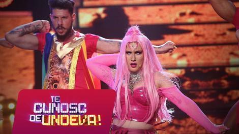 Adda se transformă în Lady Gaga - Stupid Love, la Te cunosc de undeva!