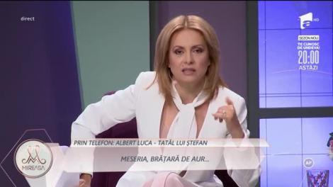 """Tatăl lui Ștefan, la Mireasa: """"Lavinia este perfectă pentru el"""""""