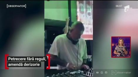 Petrecere fără reguli, amendă derizorie în Cluj-Napoca
