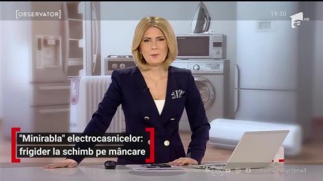 """""""Minirabla"""" electrocasnicelor: frigider la schimb pe mâncare"""